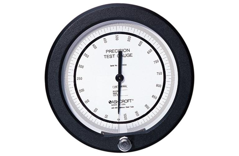 Precision Pressure Gauges : Ashcroft a inch precision pressure gauge f s