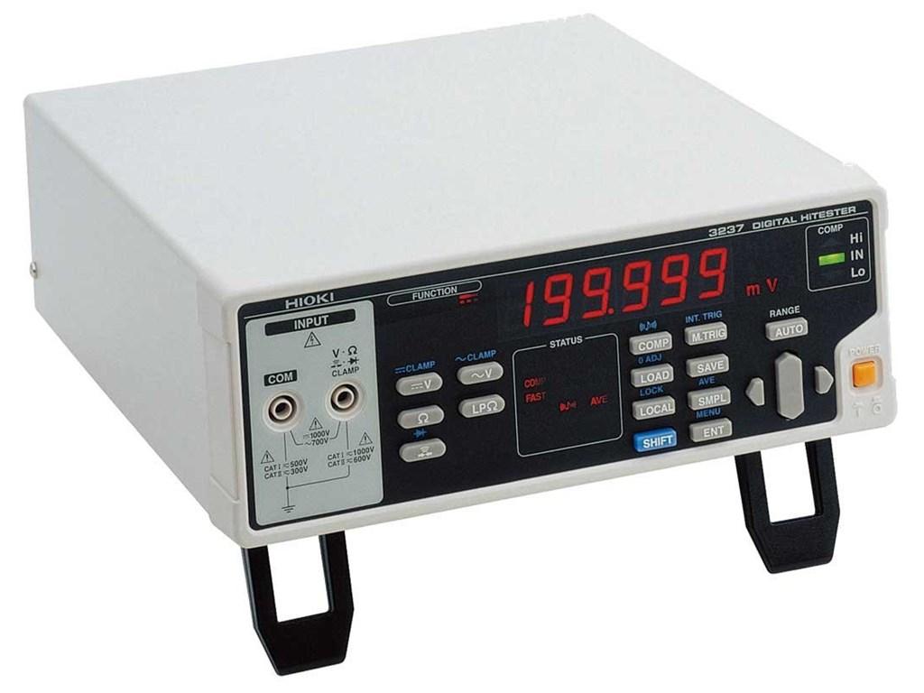 Summit Digital Meters : Hioki bench multimeters type digital