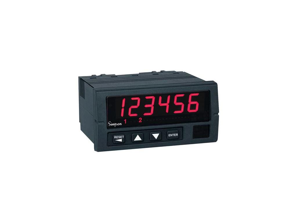 Simpson Digital Panel Meters : Simpson s switchboard panel meters type