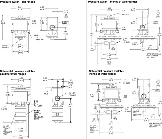 ashcroft b  d  and h series switches for gauge  differential  and hydraulic pressure  configure